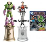 DC Chess Figurine Collection Special #3 Superman & Lex Luthor Eaglemoss